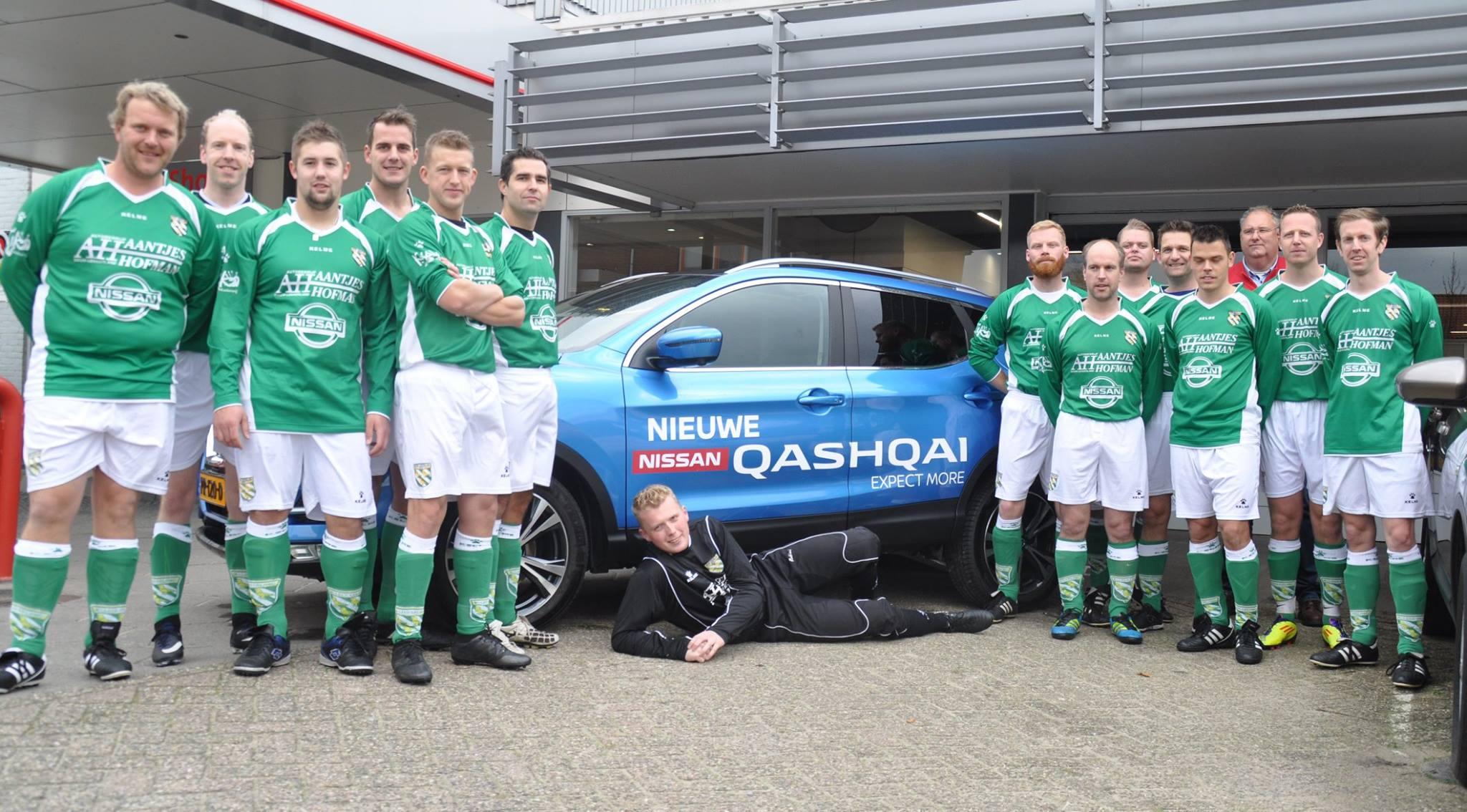 Afbeelding voor Aantjes Hofman sponsort VV Nieuw Lekkerland