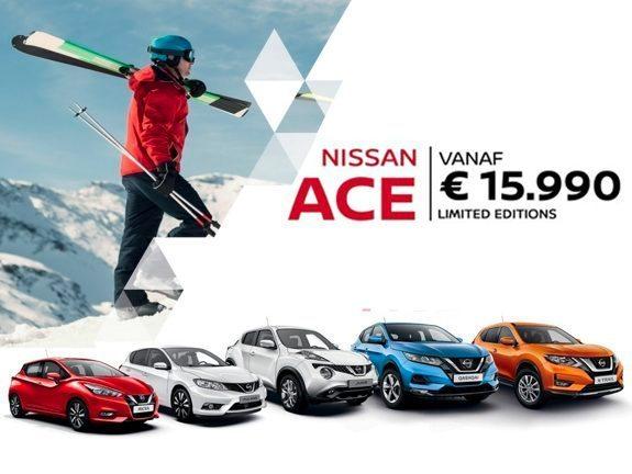Afbeelding voor Ontdek de Nissan Ace-modellen